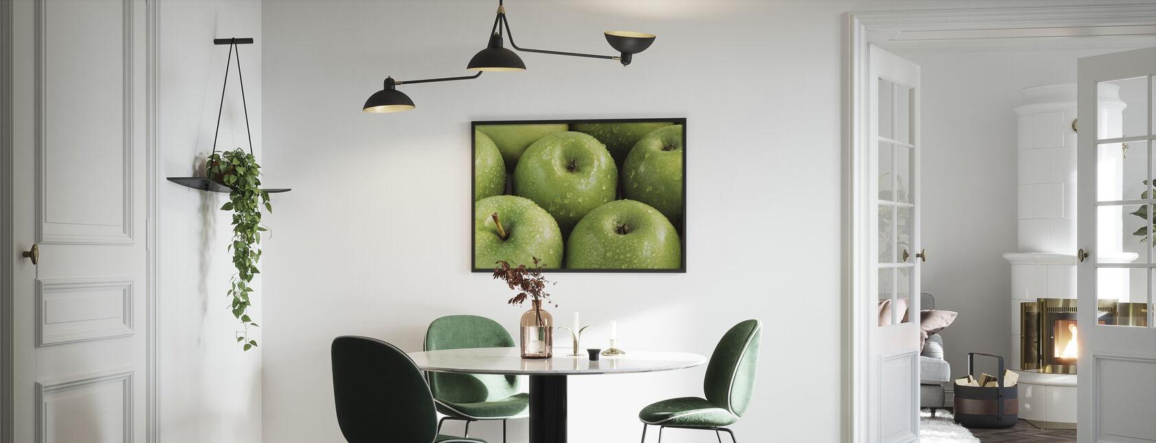 Apples - Framed print - Kitchen