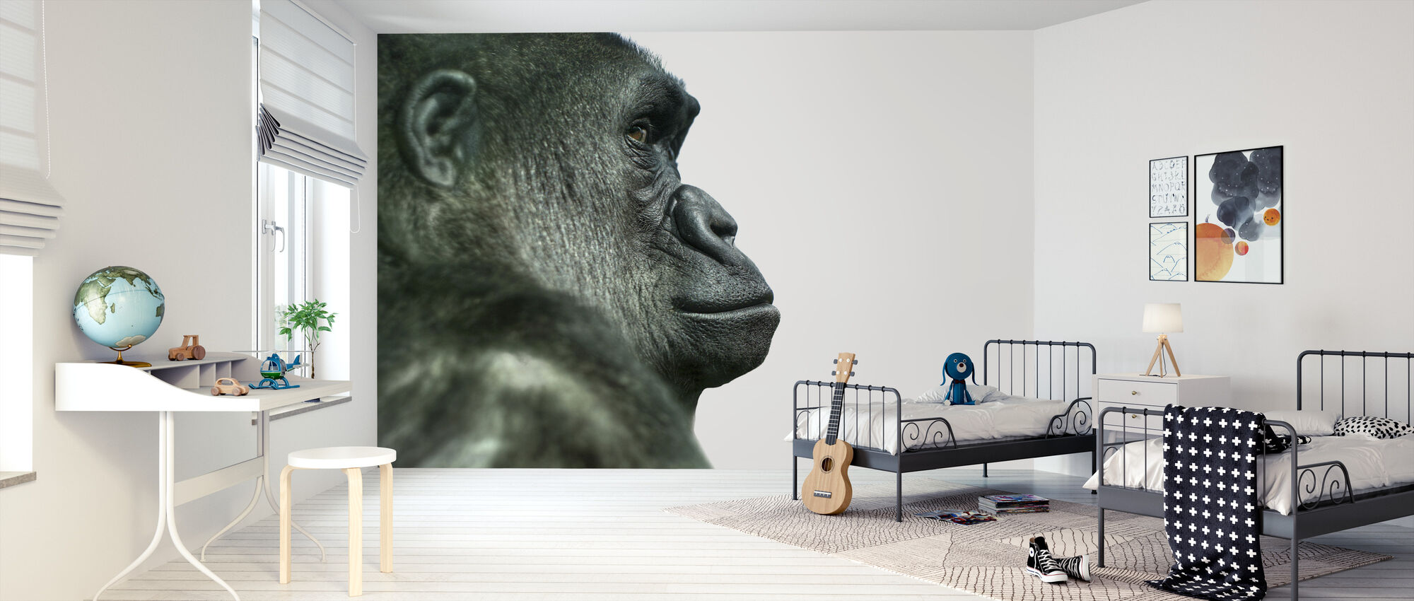 Gorilla - Wallpaper - Kids Room