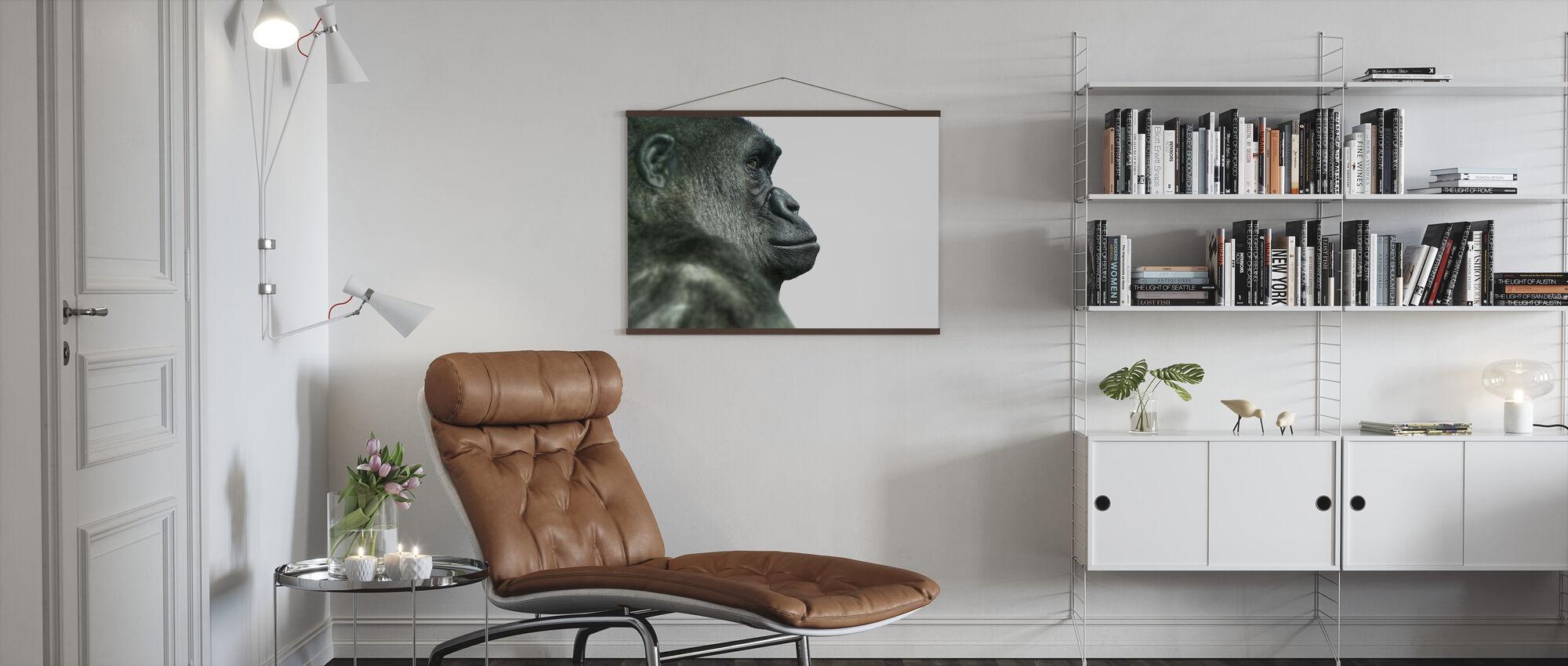 Gorilla - Poster - Wohnzimmer