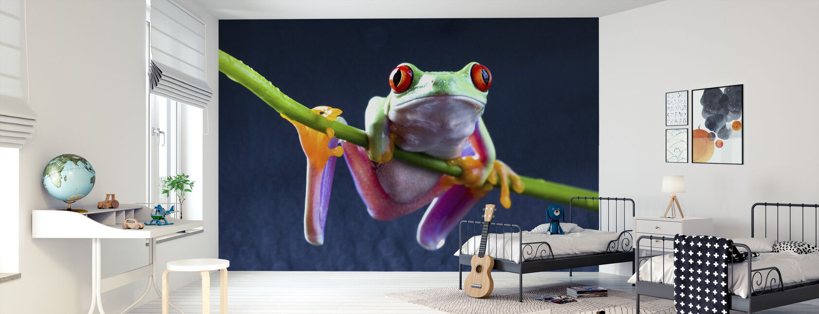 Red frog - Wallpaper - Kids Room