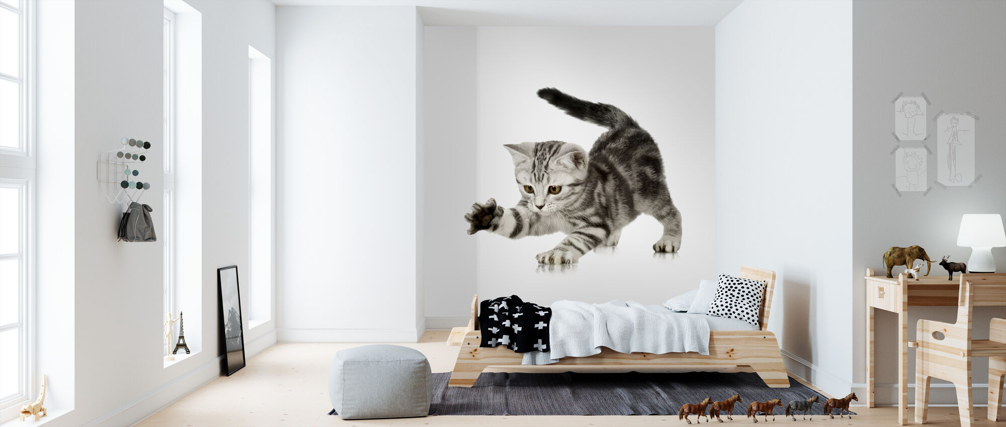 Grabbing - Wallpaper - Kids Room