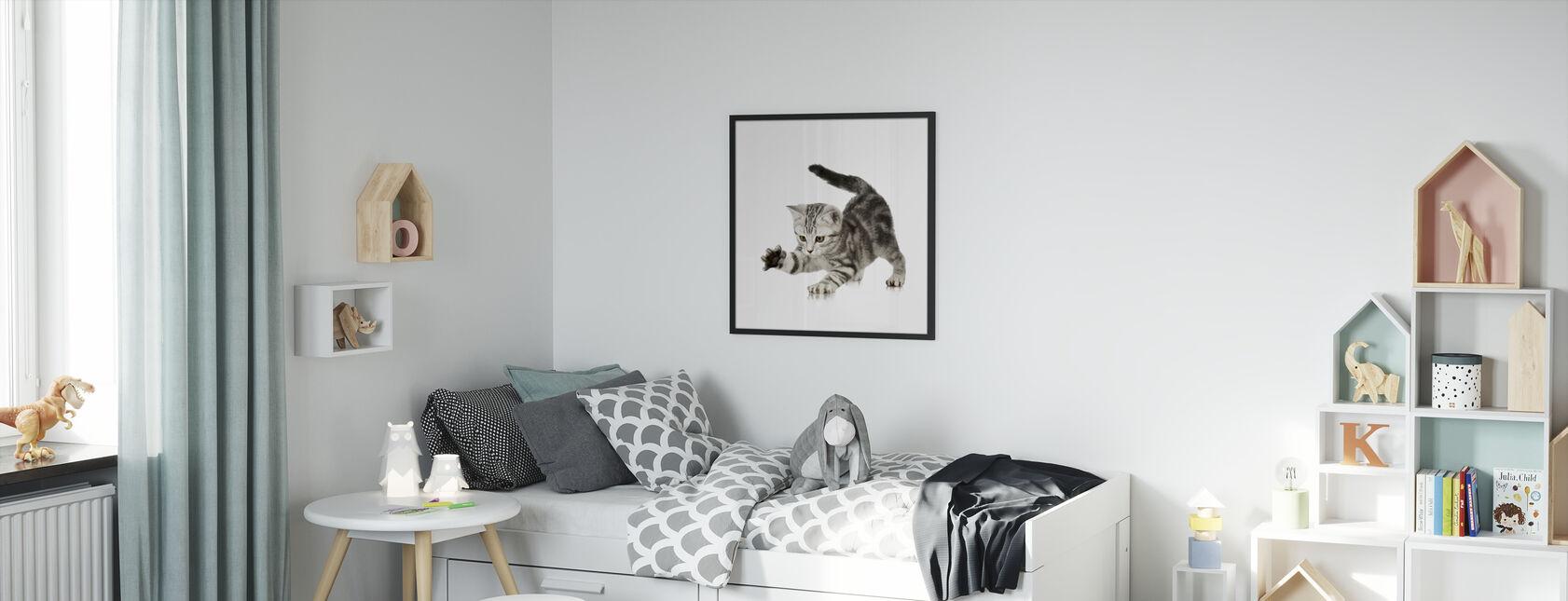 Grabbing - Framed print - Kids Room
