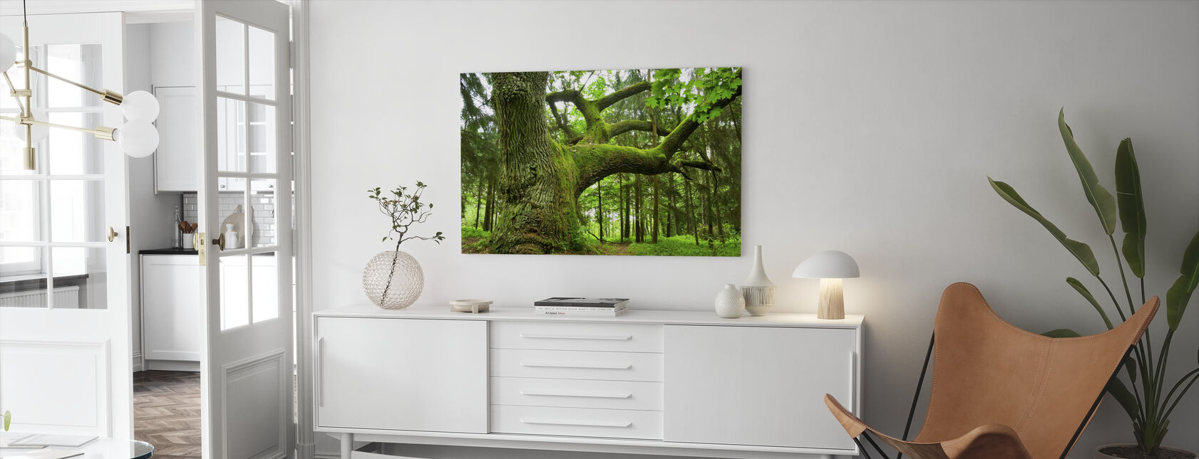 Mighty Oak - Canvas print - Living Room