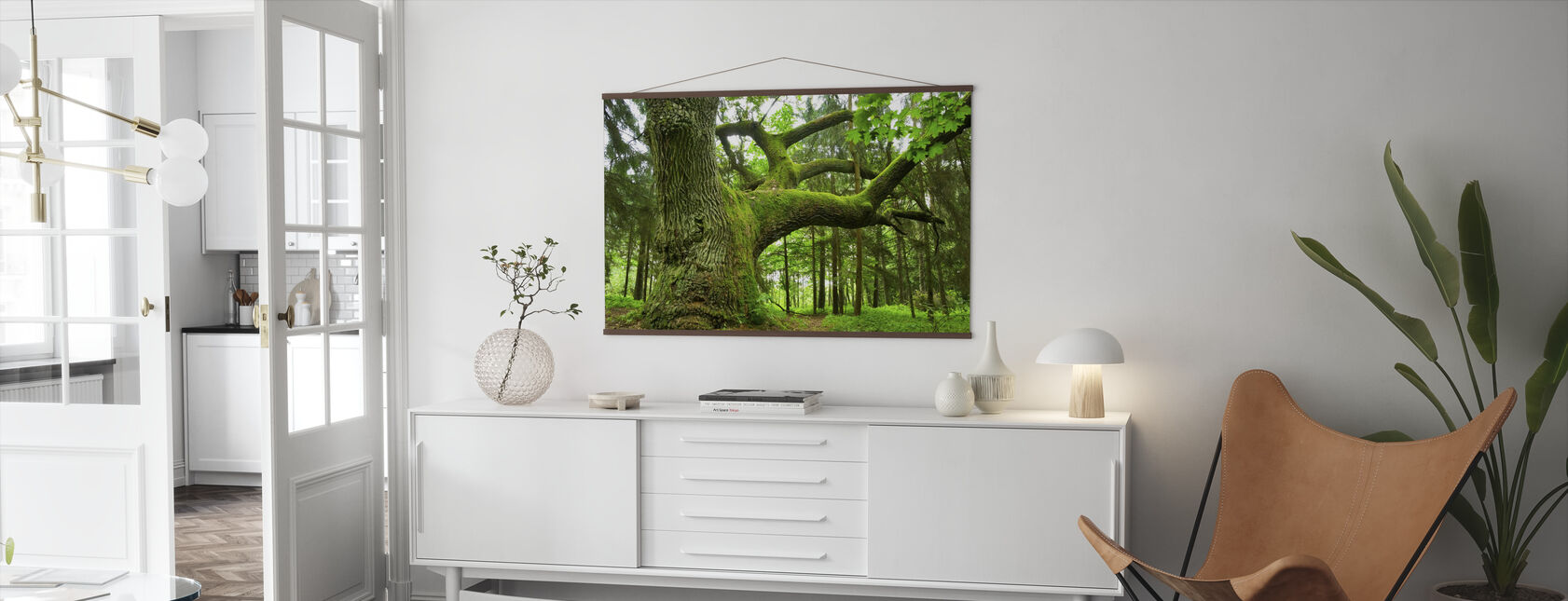 Mighty Oak - Poster - Living Room