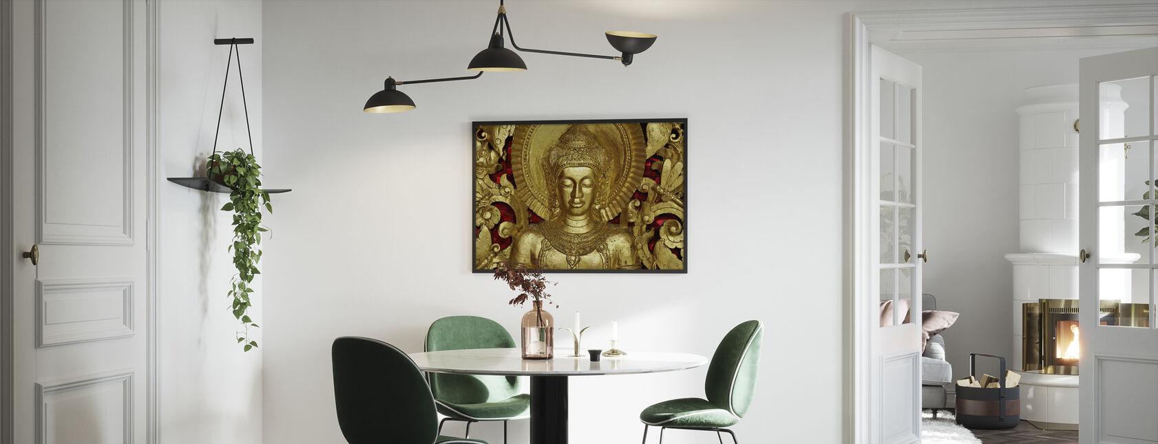 Buddha - Luang Prabang - Indrammet billede - Køkken