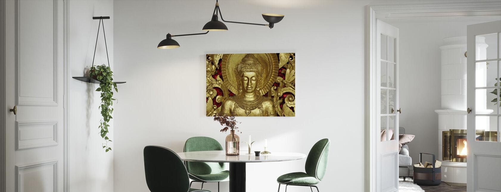 Boeddha - Luang Prabang - Canvas print - Keuken