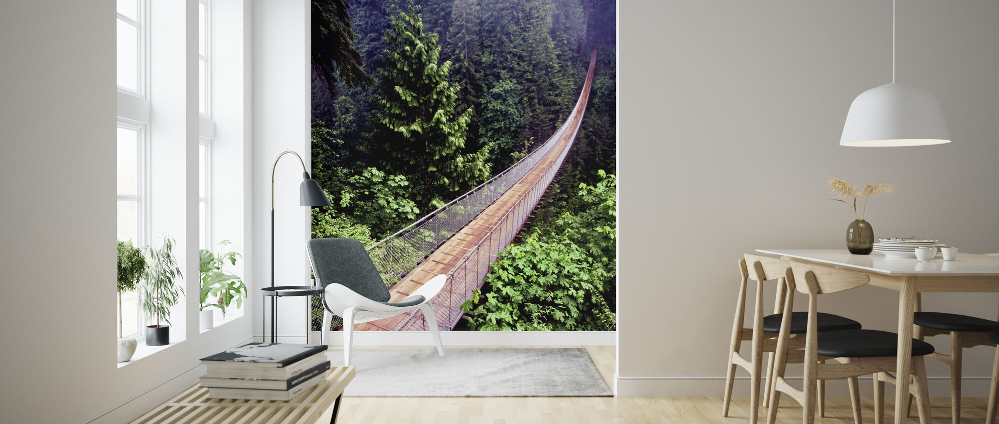 Capilano Bridge - Wallpaper - Living Room