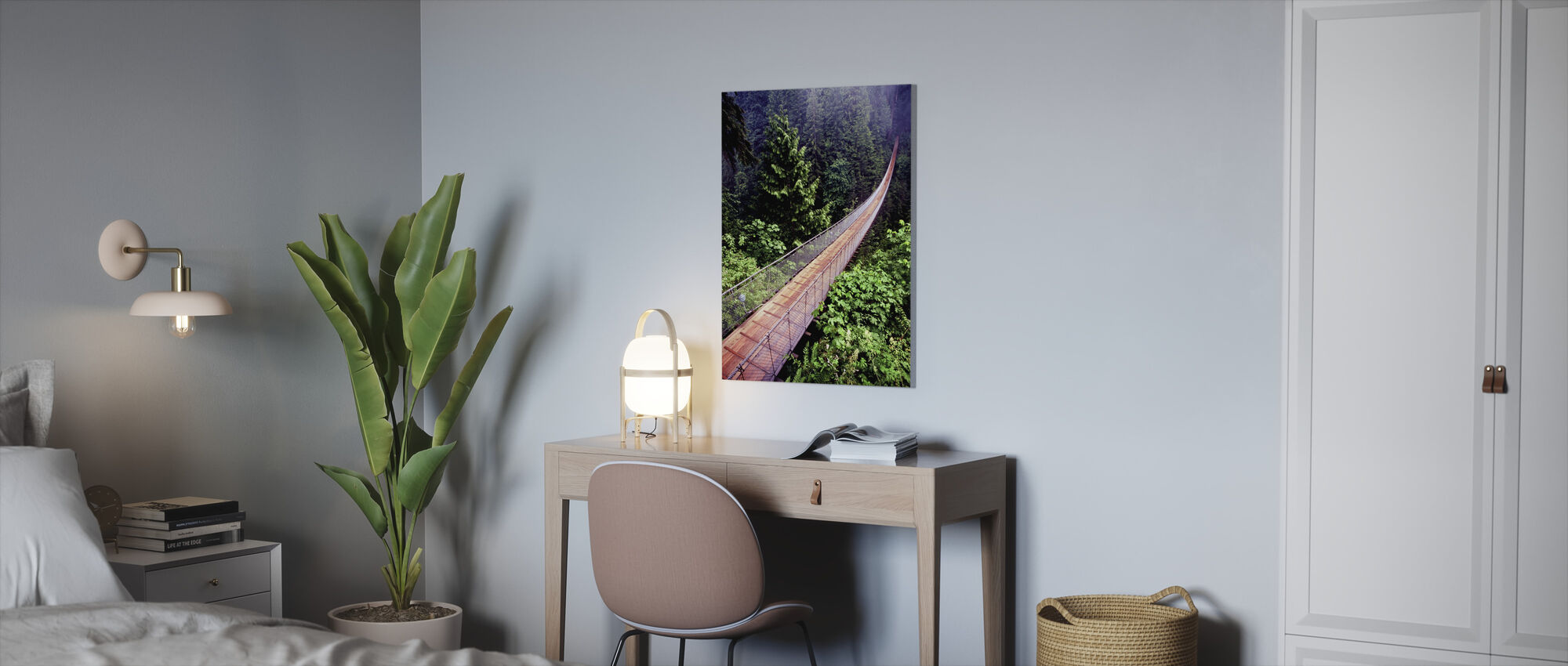 Capilano Bridge - Canvas print - Office