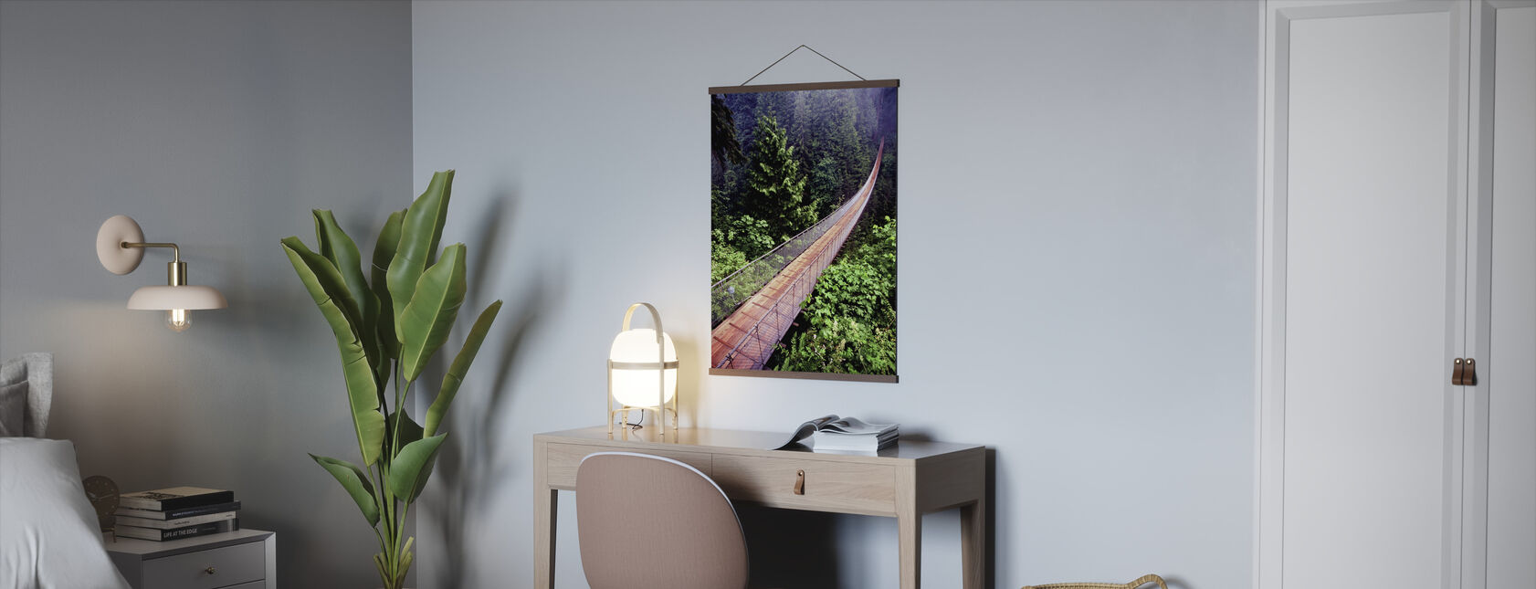 Capilano Bridge - Poster - Office