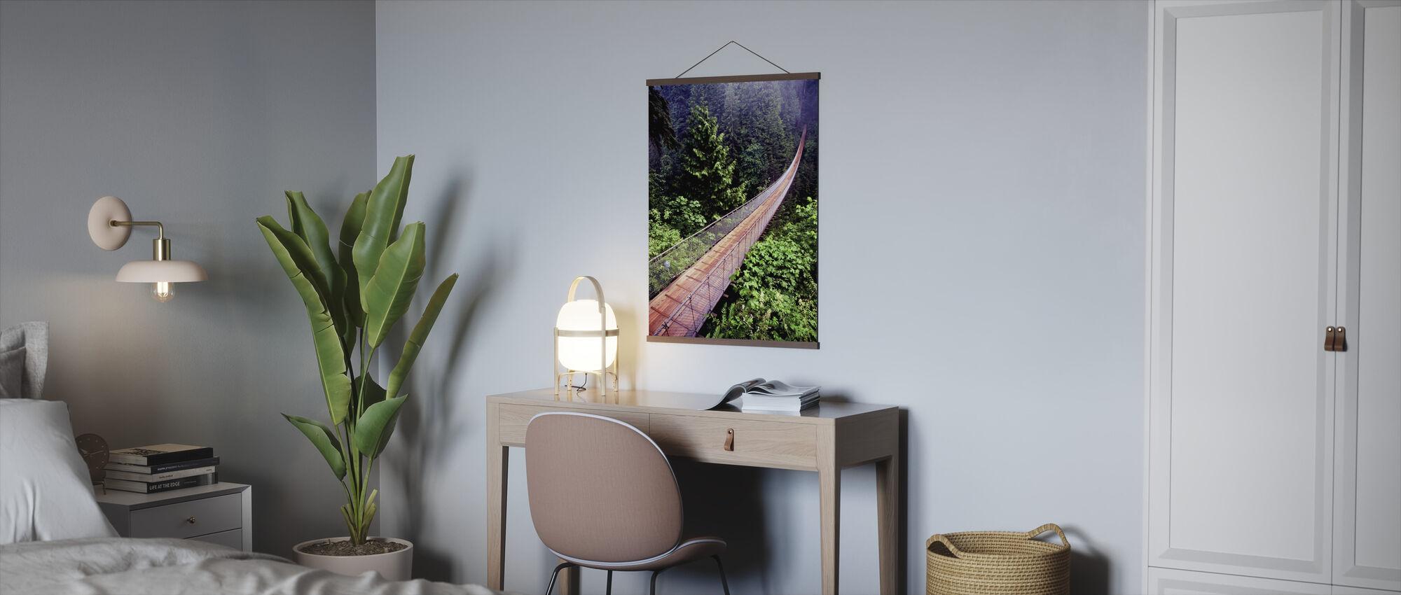 Capilano Bridge - Poster - Office