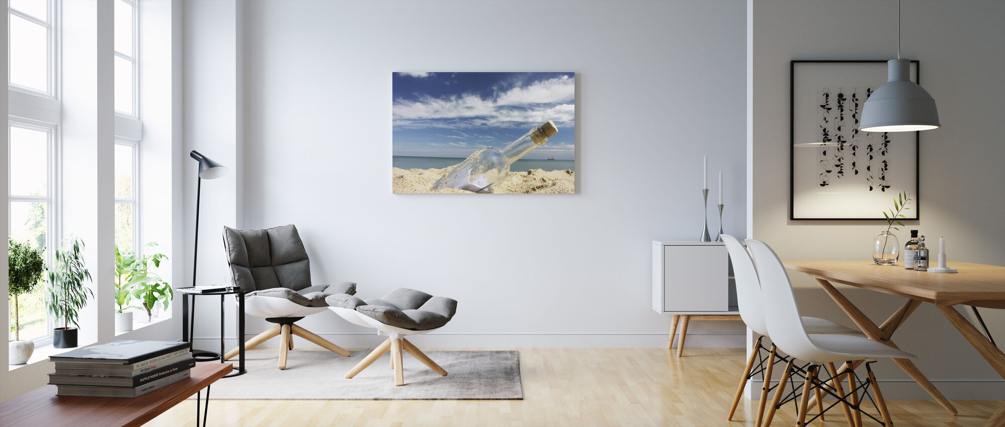 Washed Ashore - Canvas print - Living Room