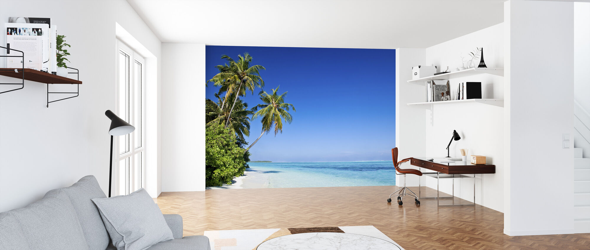 Tropical Paradise - Wallpaper - Office