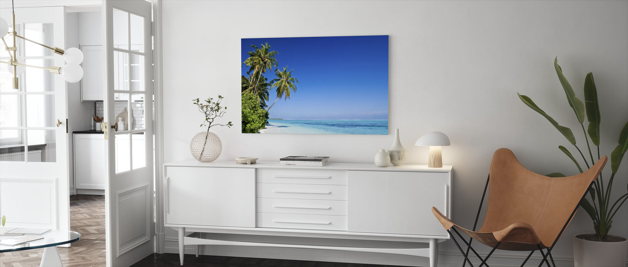 Tropical Paradise - Canvas print - Living Room