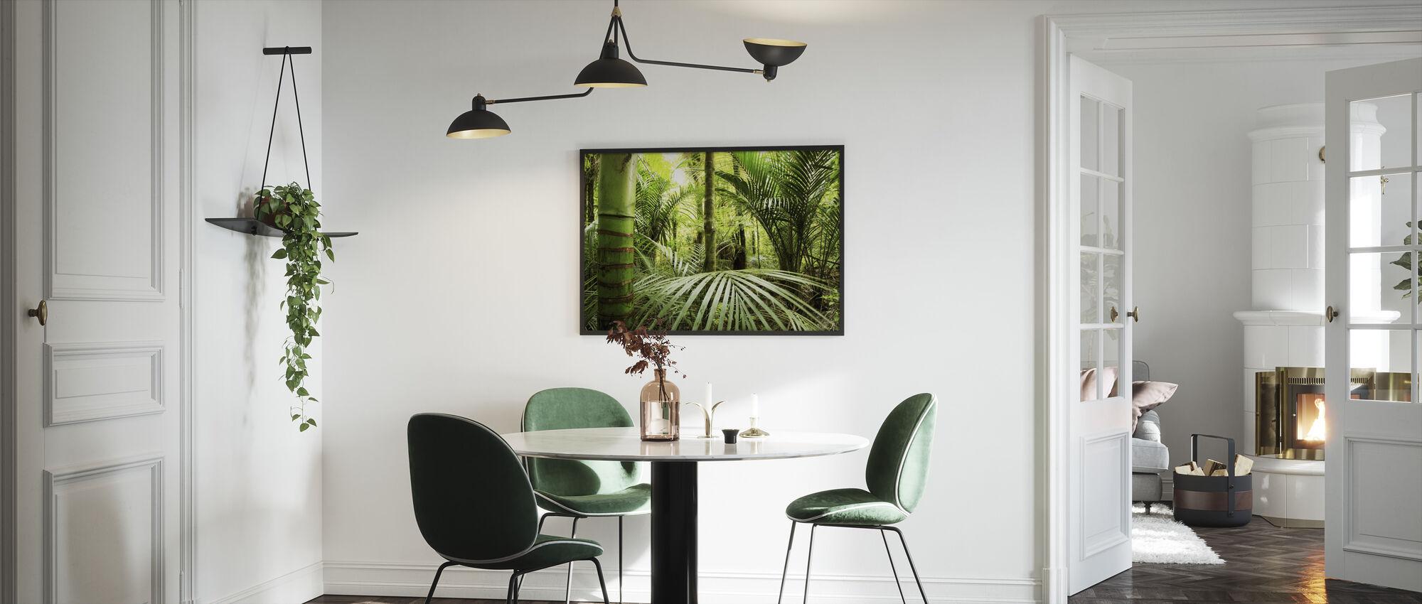 Vegetation - Framed print - Kitchen