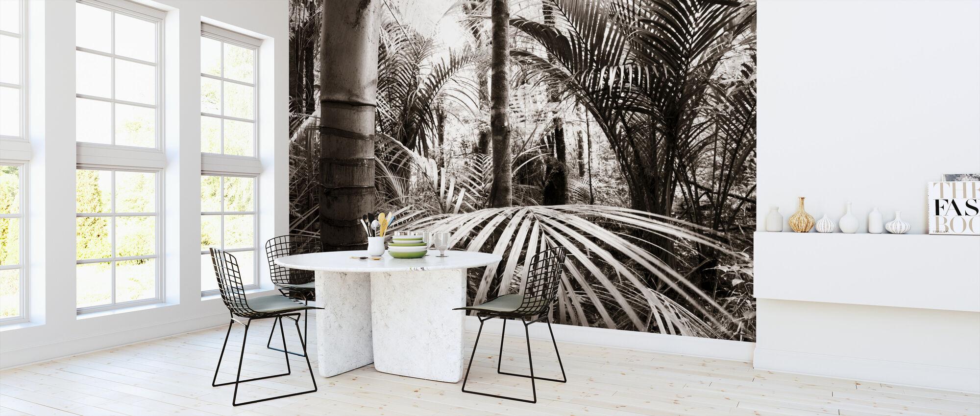 Vegetation - Sepia - Wallpaper - Kitchen