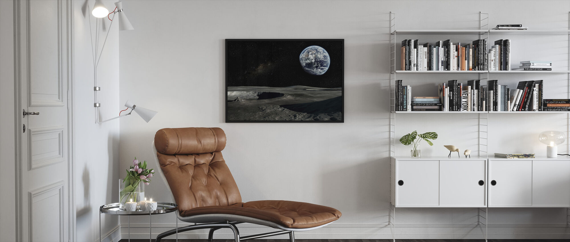 New Perspective - Framed print - Living Room