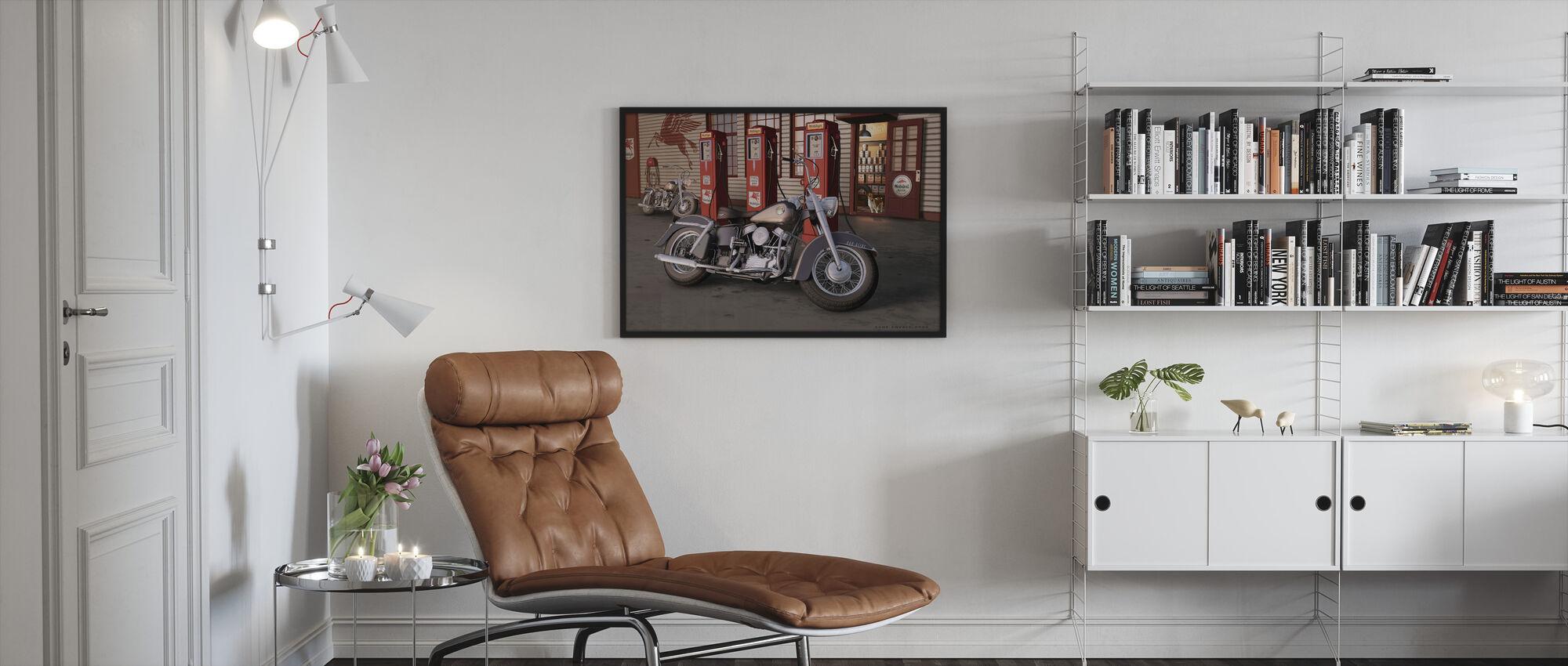 Twilight Dogs - Framed print - Living Room
