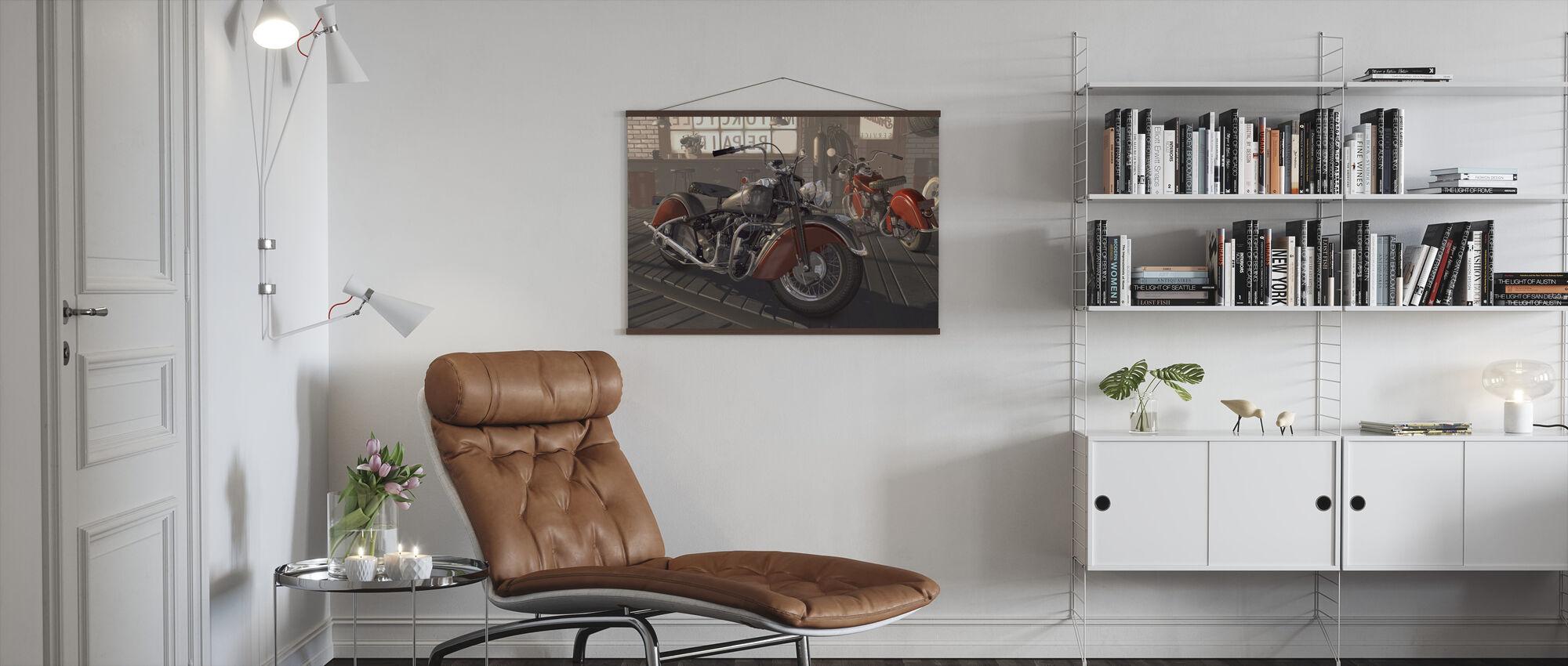 Indian Tipi - Poster - Living Room
