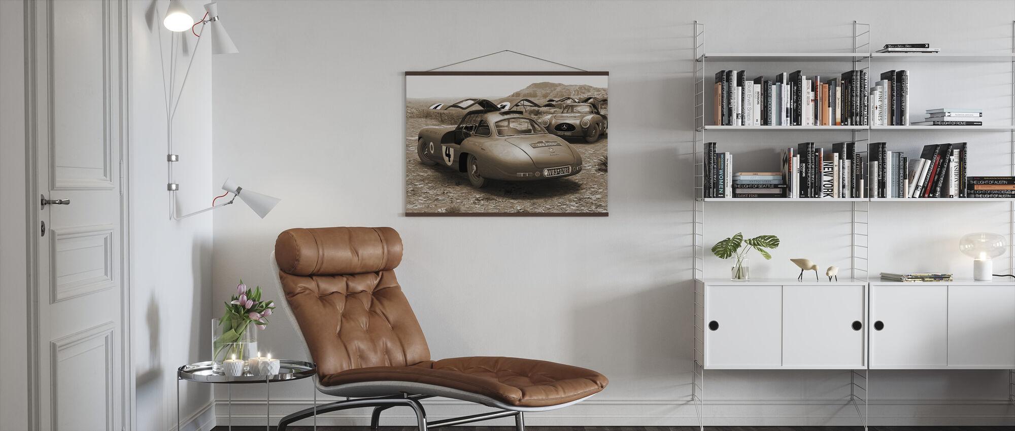 Mexico Sepia - Poster - Living Room