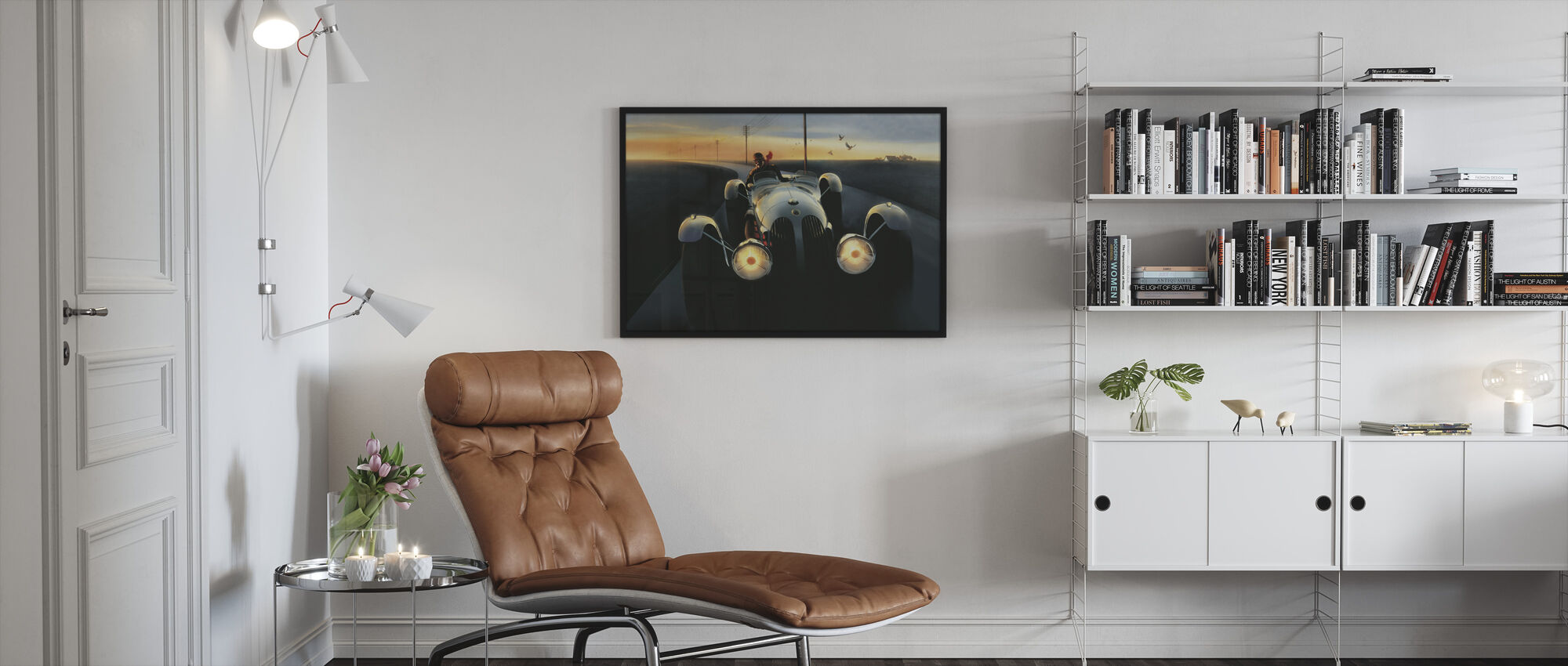Templars Hirondel - Framed print - Living Room