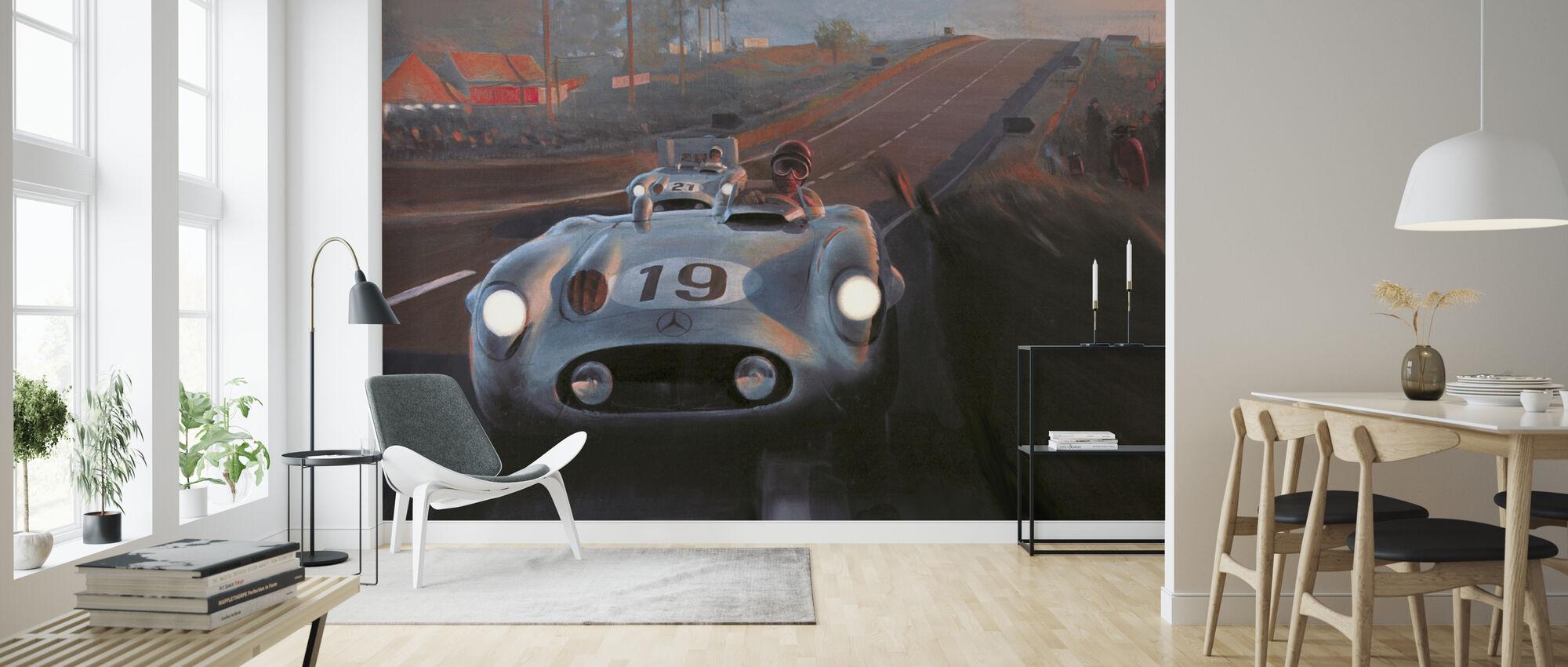 Old Classic Car - Wallpaper - Living Room