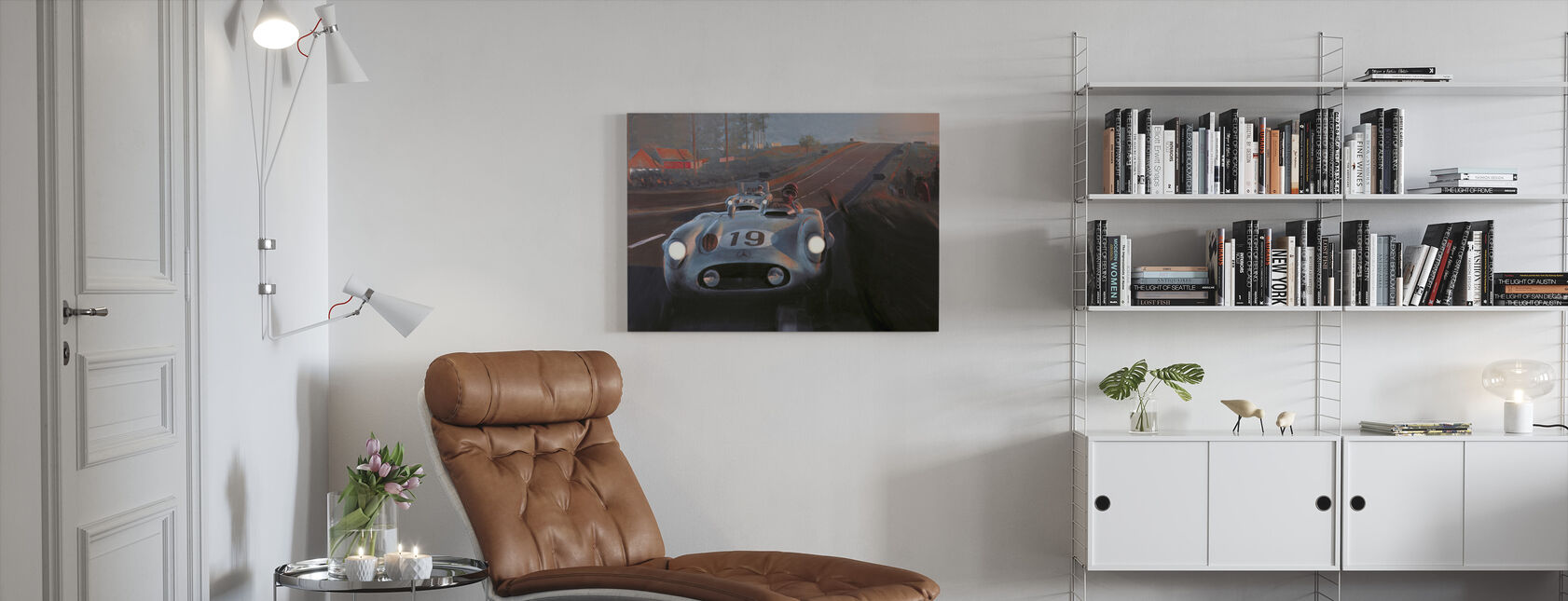 Old Classic Car - Canvas print - Living Room