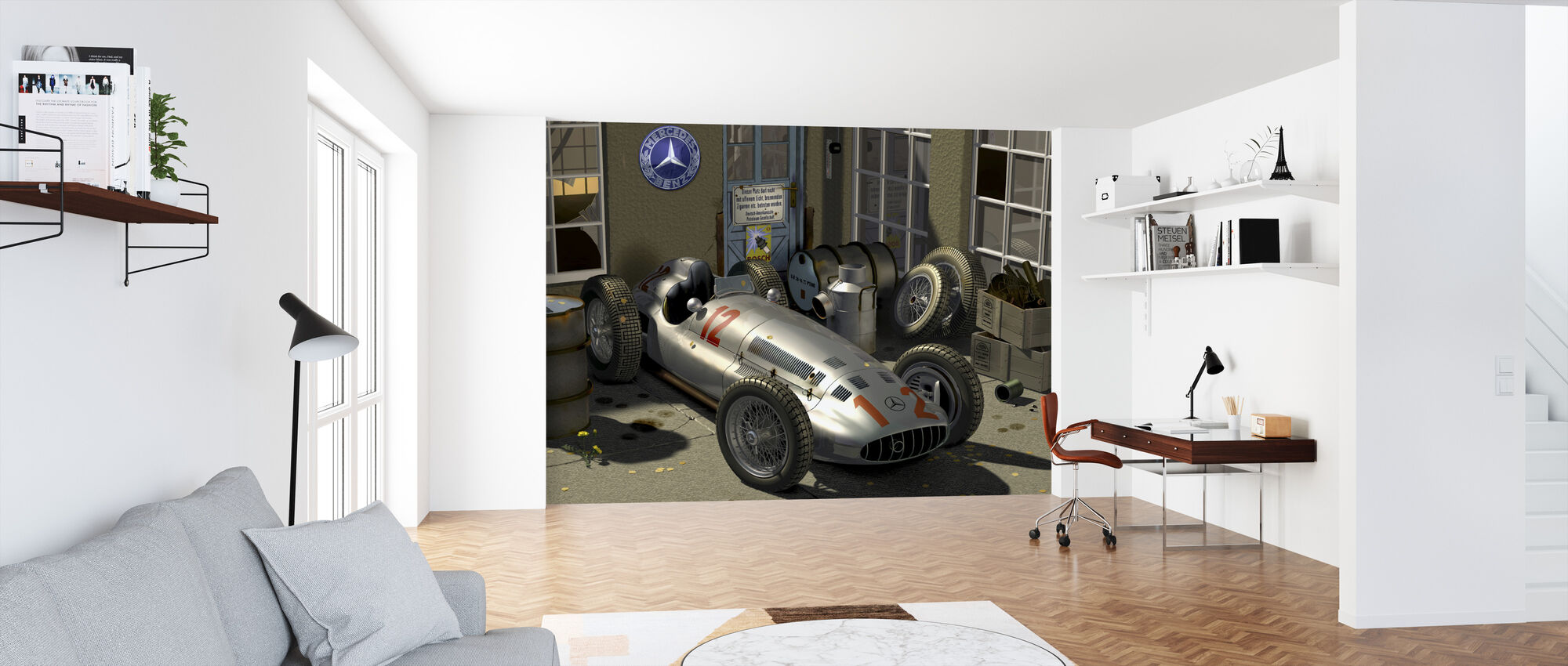 Carriage - Wallpaper - Office