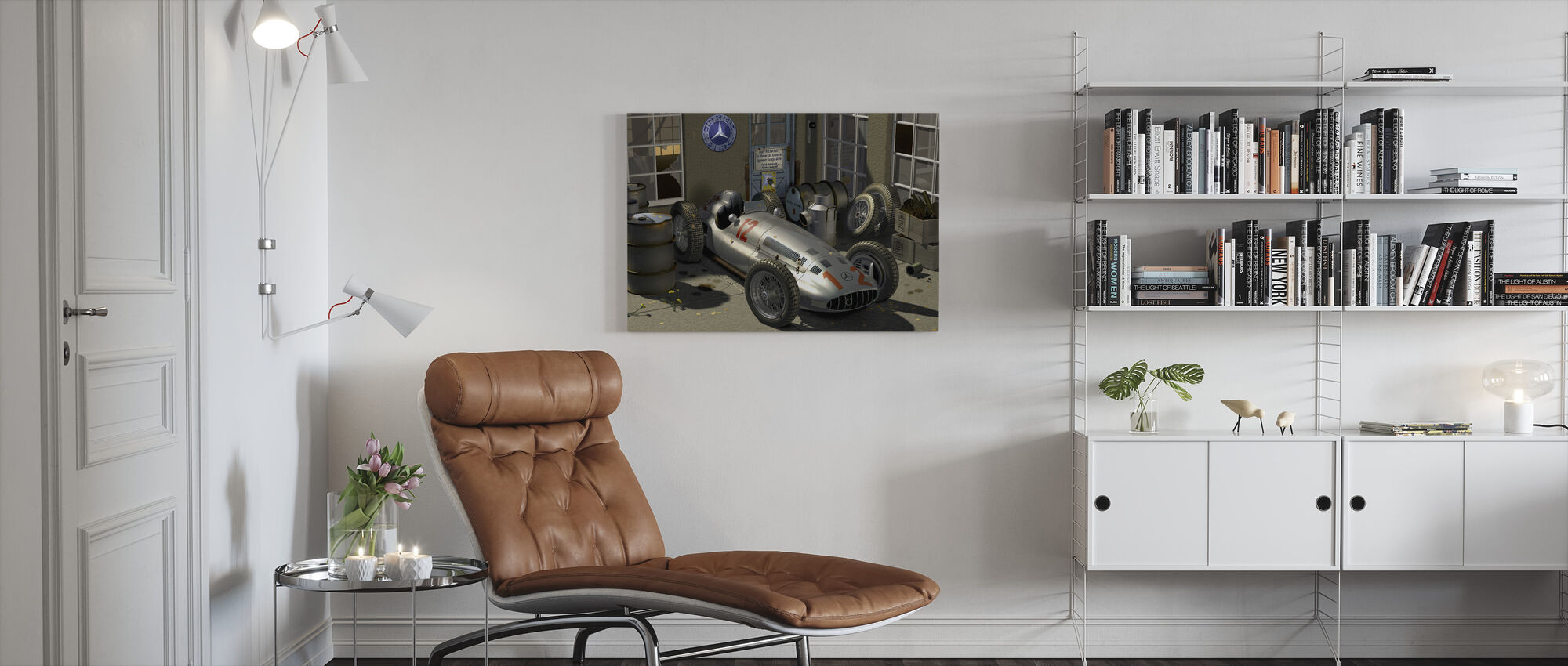 Carriage - Canvas print - Living Room