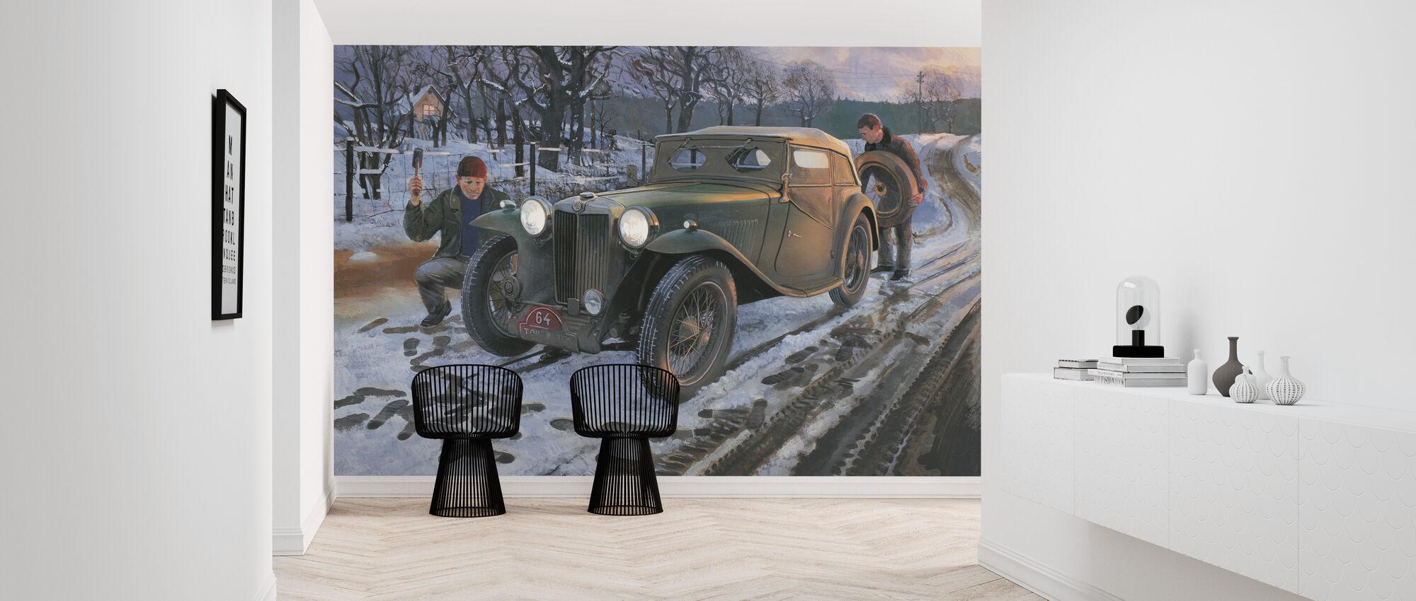 Winter Rally - Wallpaper - Hallway