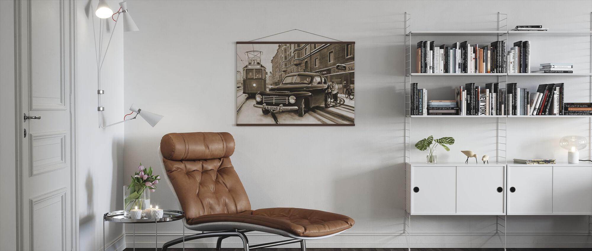 PV In Stockholm, Sweden - Poster - Living Room
