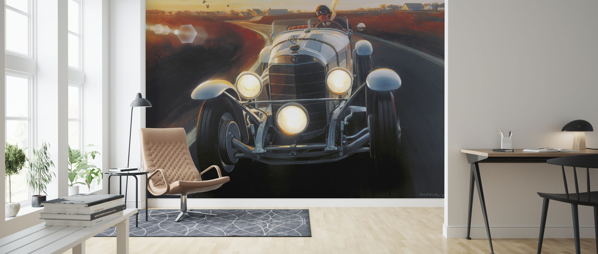 SSK - Wallpaper - Living Room