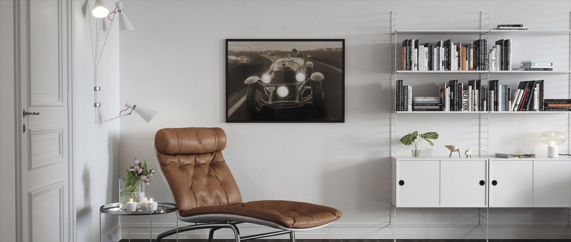 SSK Sepia - Framed print - Living Room