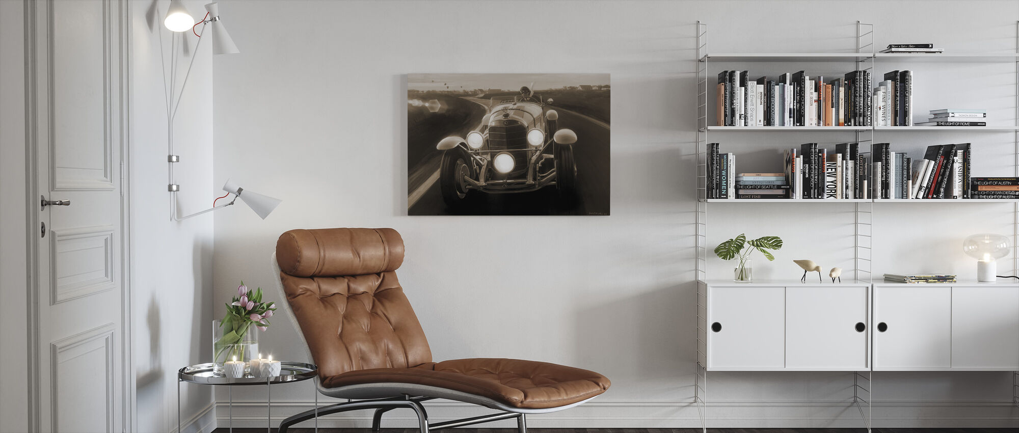 SSK Sepia - Canvas print - Woonkamer