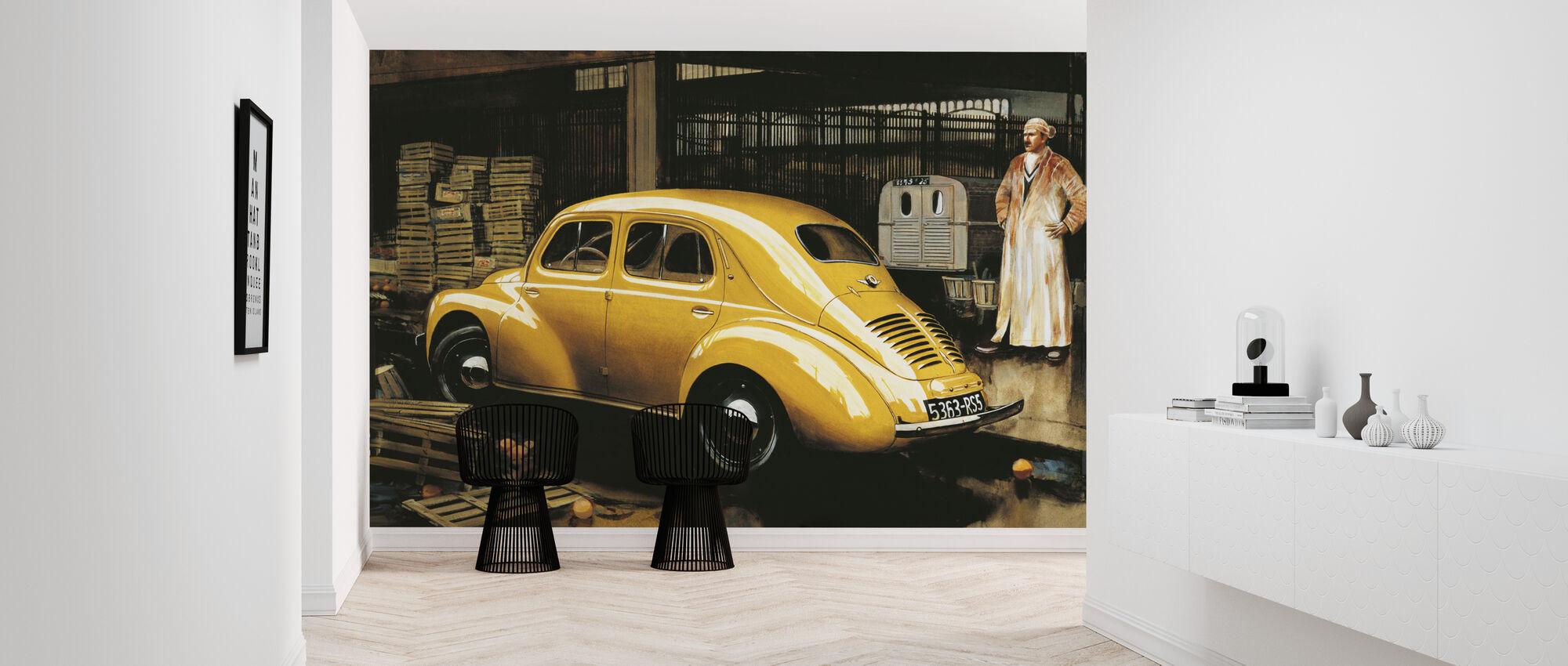 Classic Car - Wallpaper - Hallway