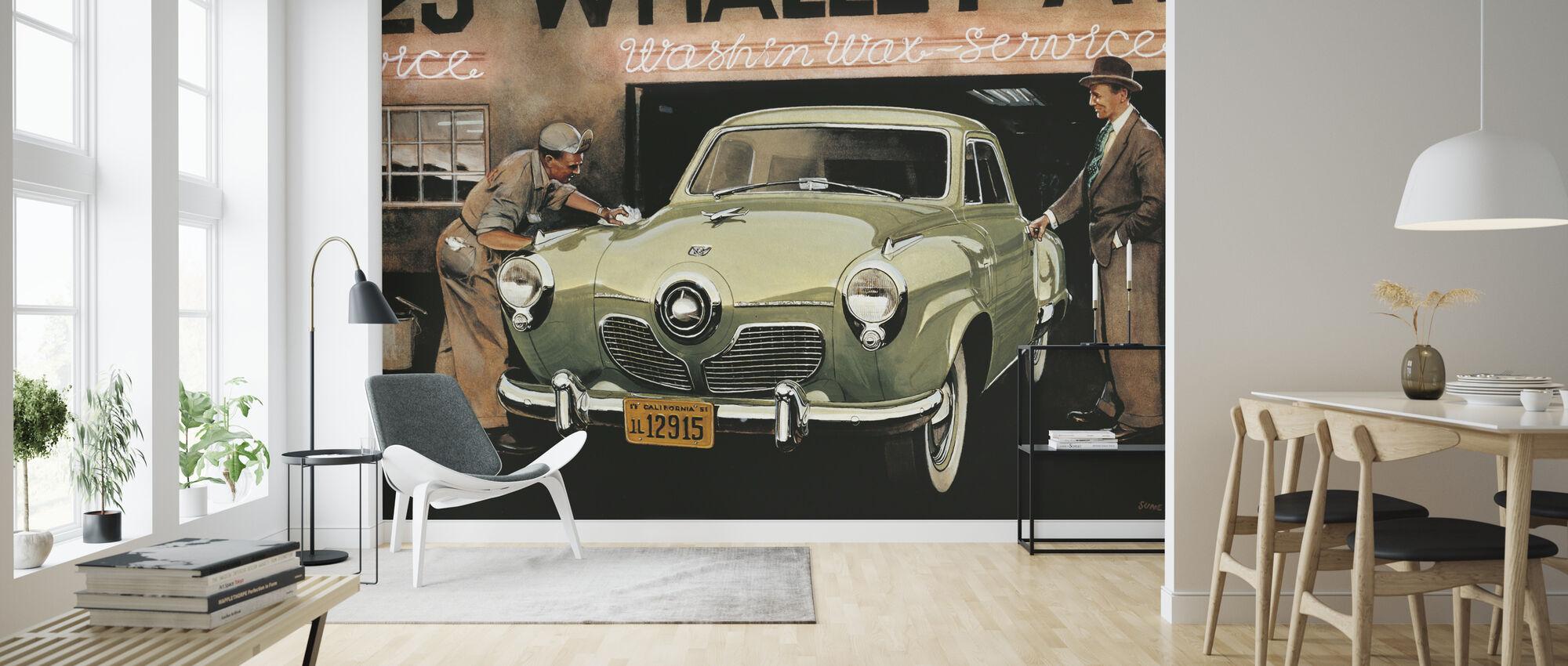 American SC - Wallpaper - Living Room