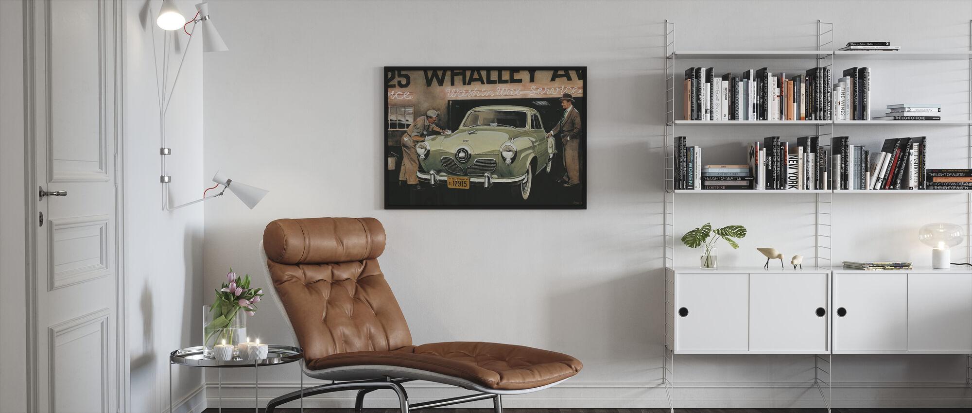American SC - Framed print - Living Room