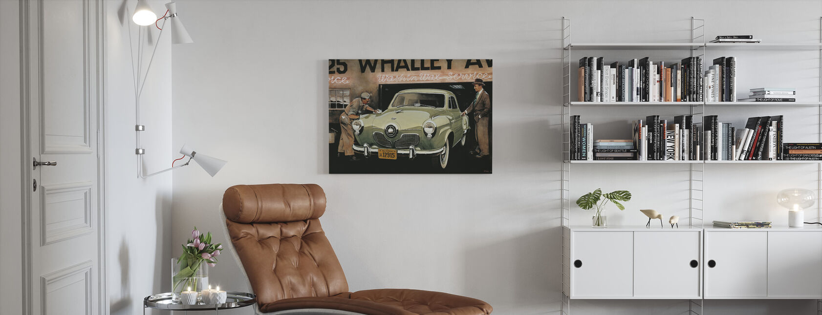 Amerikaanse SC - Canvas print - Woonkamer