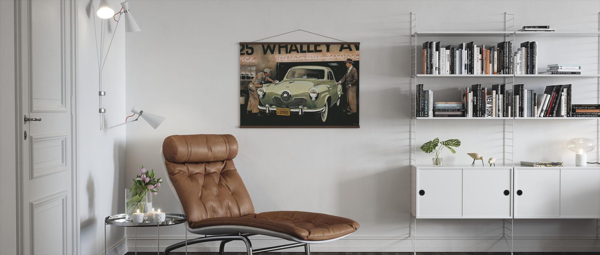American SC - Poster - Living Room