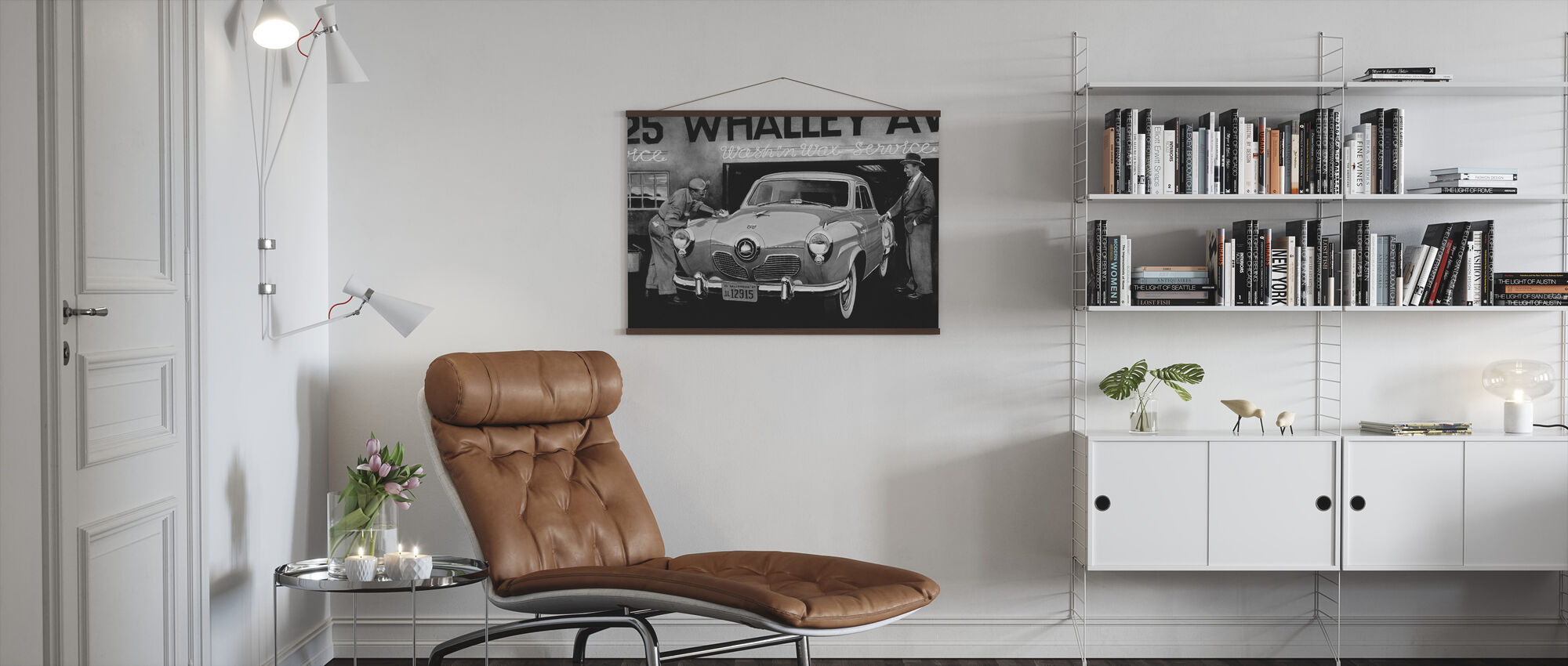American SC BW - Poster - Living Room