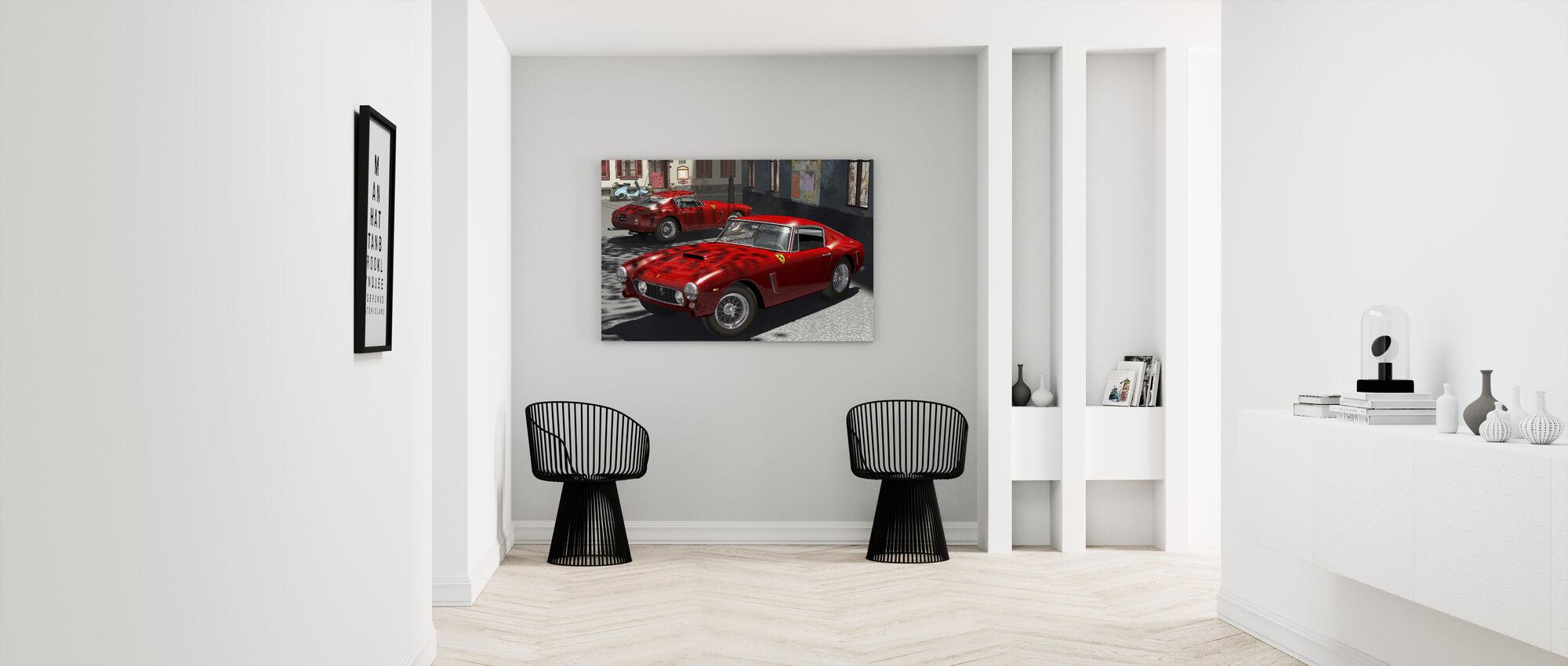 Classic Sports Car - Canvas print - Hallway