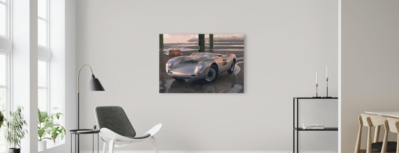 Jimmys bil - Billede på lærred - Stue