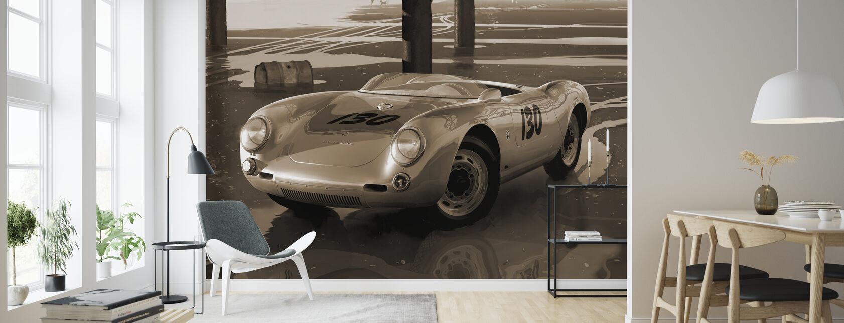 Jimmys car Sepia - Wallpaper - Living Room
