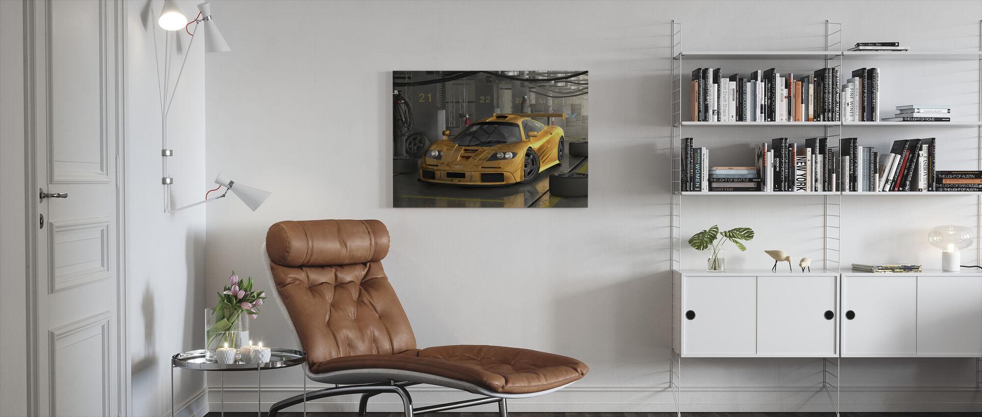 Fast Car - Canvas print - Living Room