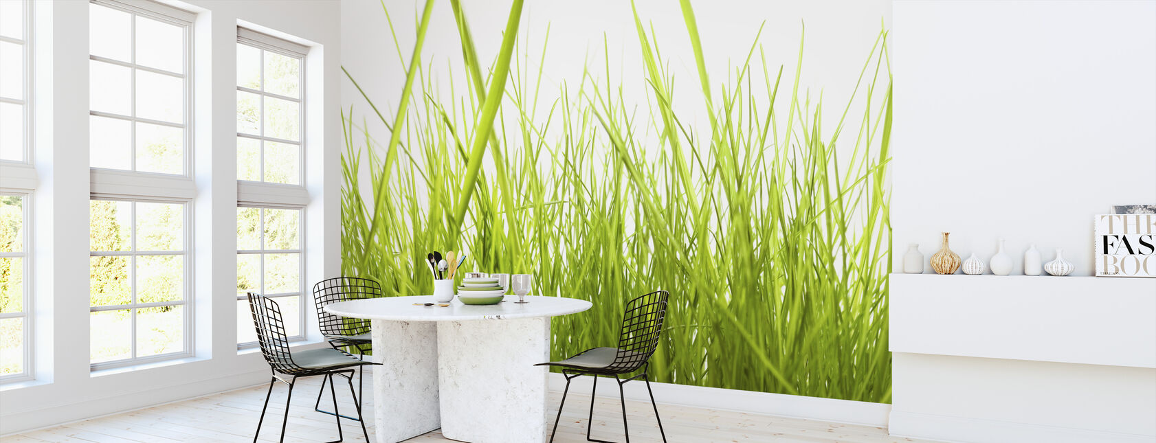 High Grass - Wallpaper - Kitchen