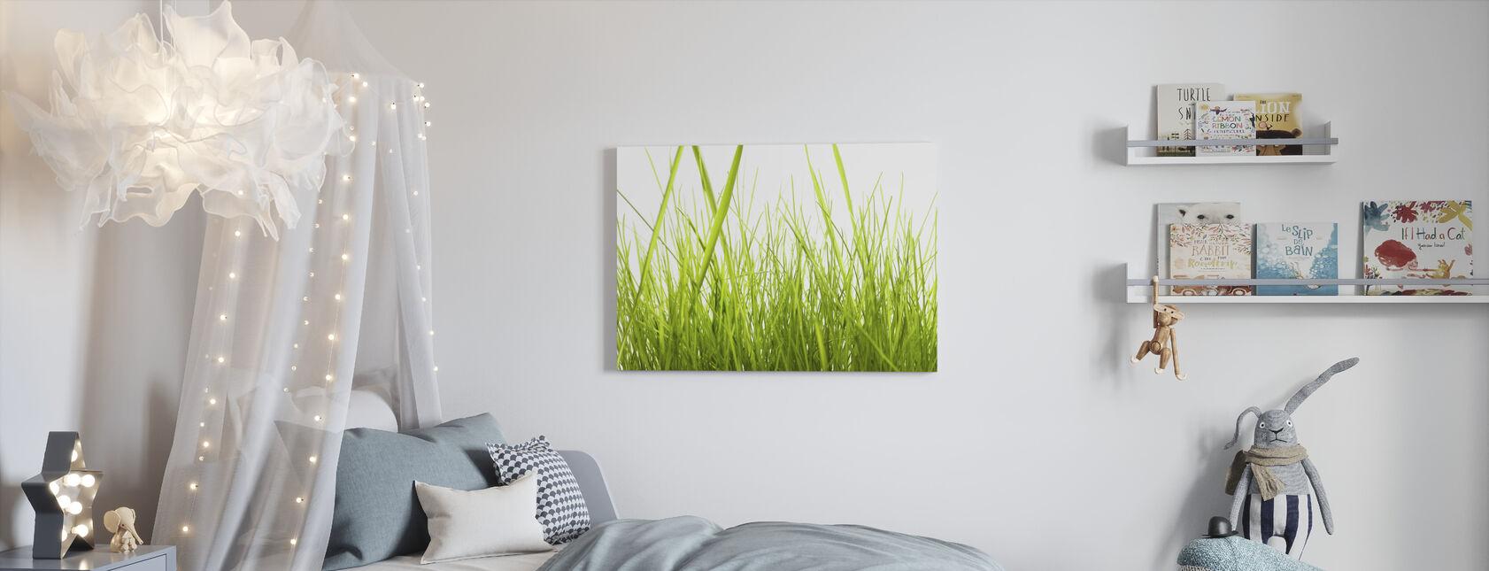 Högt gräs - Canvastavla - Barnrum