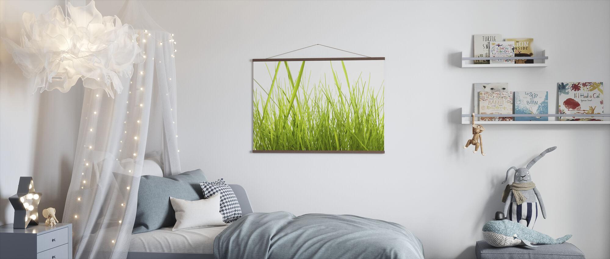 Høyt gress - Plakat - Barnerom