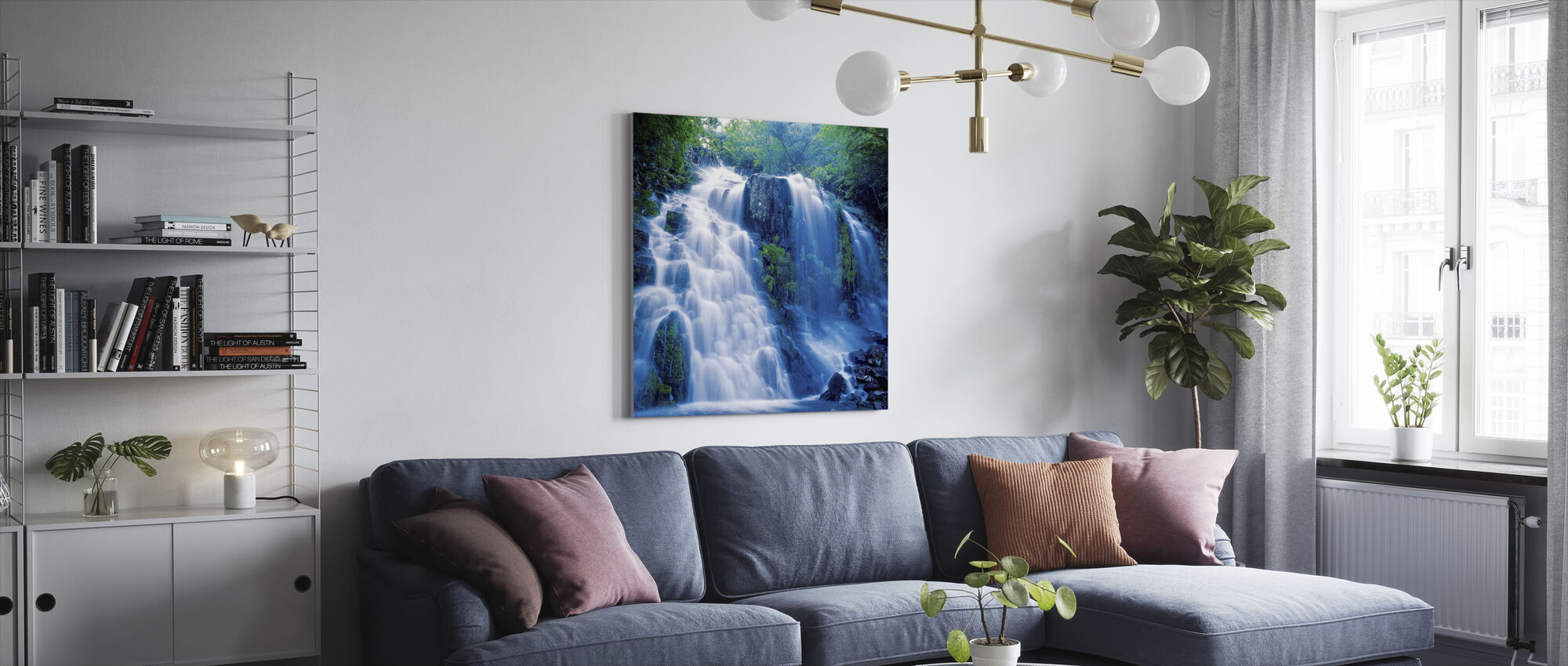 Nature Scenery - Canvas print - Living Room