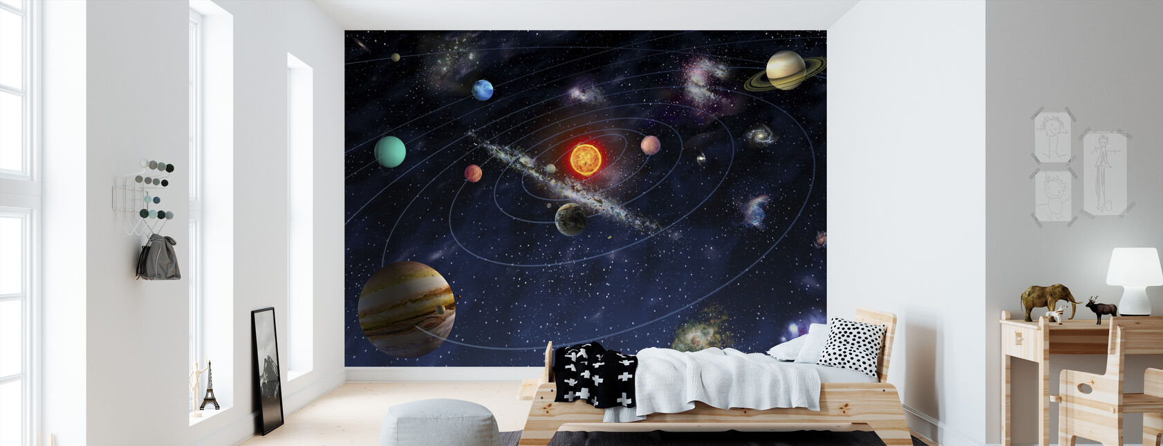 Deco Chambre Garcon Theme Espace