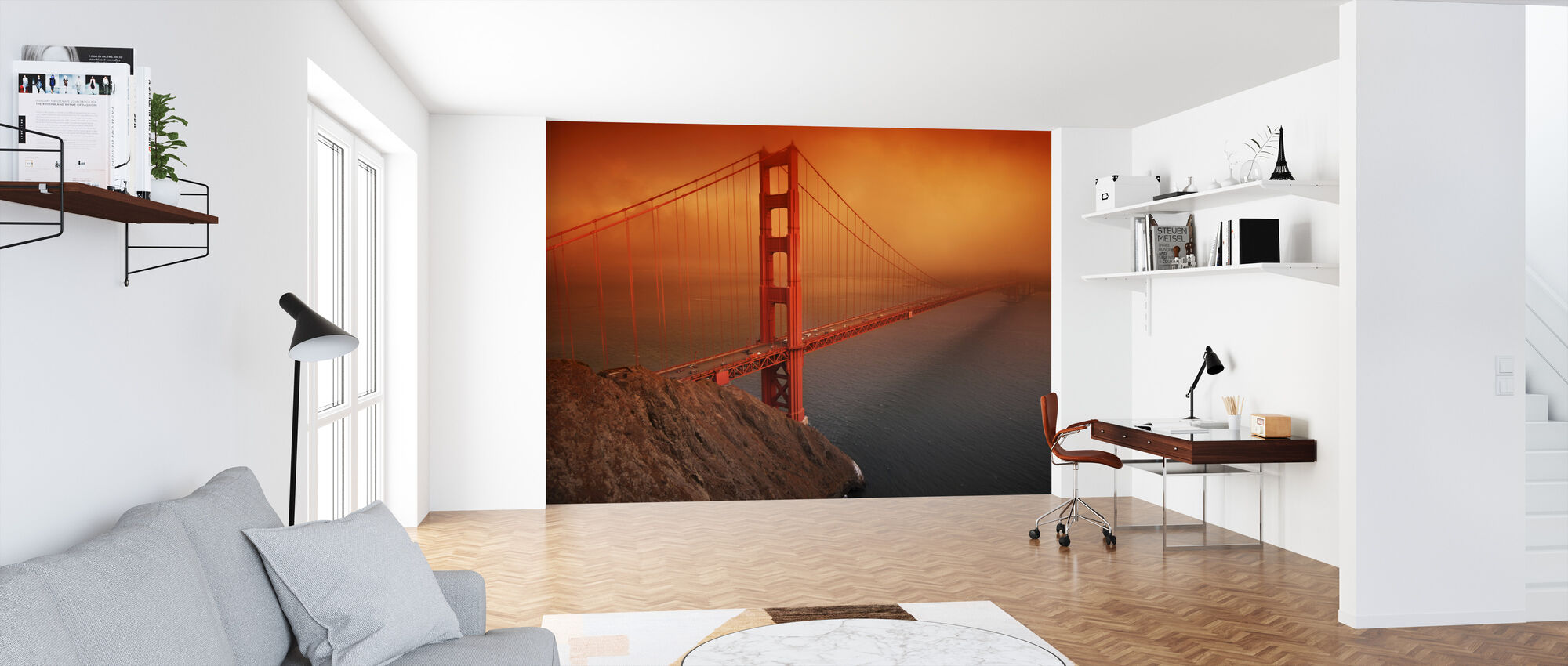 Golden Gate - Wallpaper - Office
