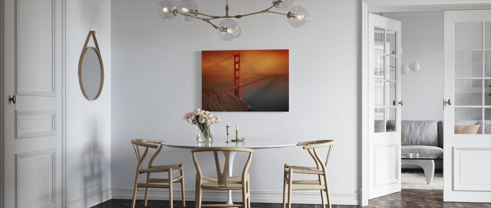 Gouden Poort - Canvas print - Keuken